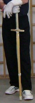 Shinai mit Parierstange