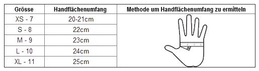 Masse_HEMA-Fechthandschuh