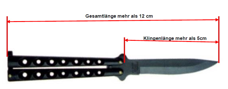 Verbotene Messer